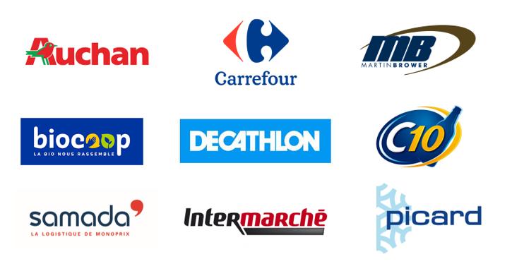 Logos distributeurs